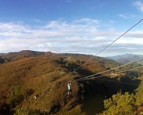 Tirolinas Baztan Abentura Park Urruti Sport navarra donostia san sebastian 1