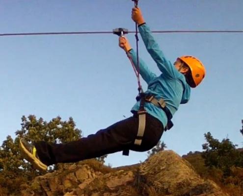 Tirolinas Baztan Abentura Park Urruti Sport navarra donostia san sebastian 3
