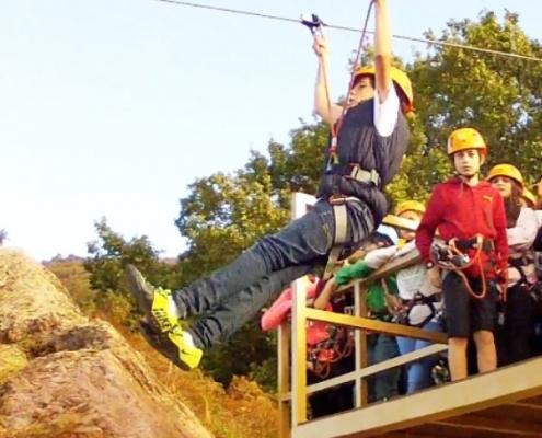 Tirolinas Baztan Abentura Park Urruti Sport navarra donostia san sebastian 5