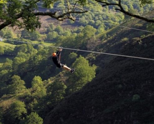Tirolinas Urruti Sport baztan abentura park navarra 1