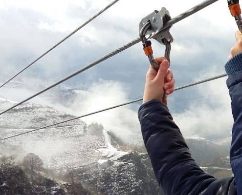 Tirolinas Urruti Sport baztan abentura park navarra 2