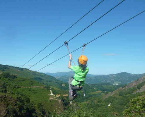 Tirolinas Urruti Sport baztan abentura park navarra 4