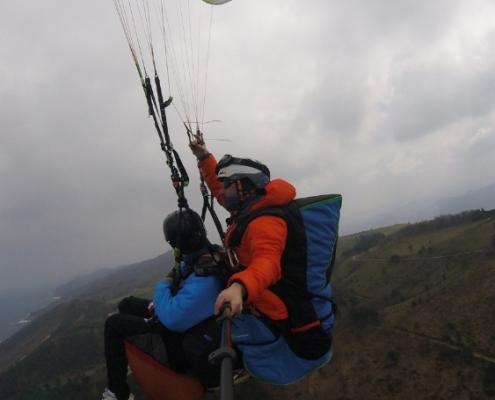 Urruti Sport Vuelo Curso Basico Donostia San Sebastian Gipuzkoa Orio Tolosa Regil Parapente Basque Country Activities 00005