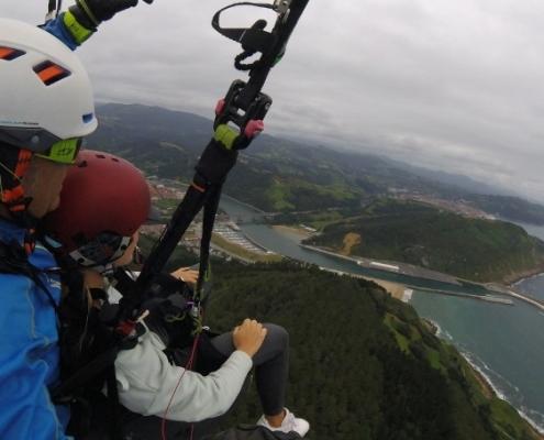 Urruti Sport Vuelo Curso Basico Donostia San Sebastian Gipuzkoa Orio Tolosa Regil Parapente Basque Country Activities 00006