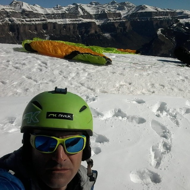 Musty Molina Urruti Sport vuelo en parapente